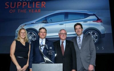 Summit Polymers Recognized as a General Motors 2015 Supplier of the Year