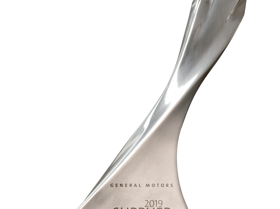 Summit Polymers Recognized by General Motors as a 2019 Supplier of the Year Winner